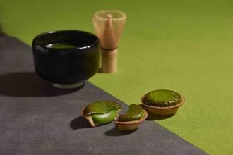 老舗茶舗の上質な抹茶が贅沢に香る  BAKE最新作