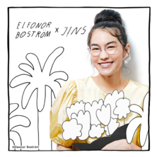「JINS×Eleonor Boström」発売